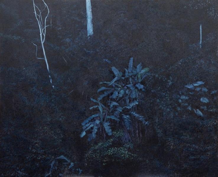 L'autre Versant, 2017, Huile Sur Toile, 130 X 160 Cm (51 X 63 In)